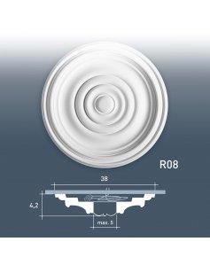 Rozeta Ozdobna R08