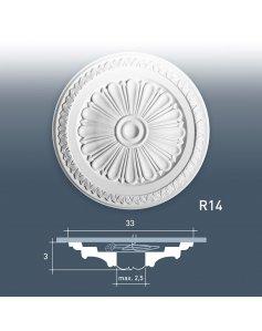 Rozeta Ozdobna R14