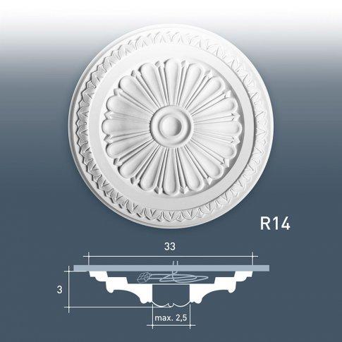 Rozeta Dekoracyjna R14