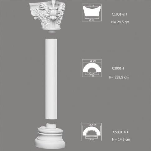 Kompletna Kolumna C4001H