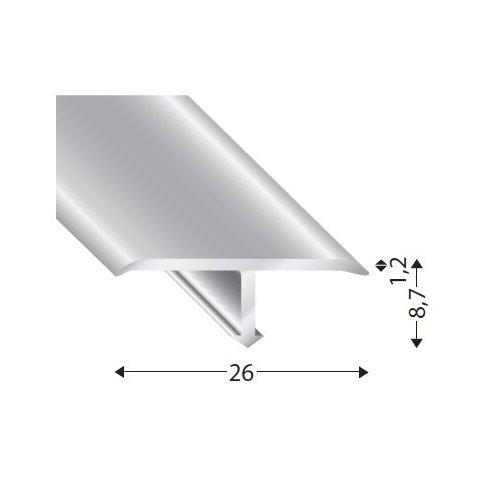 Aluminiowa listwa dylatacyjna T13526