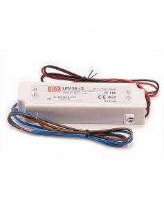 Zasilacz LED MEAN WELL 12V/36W wodoodporny IP67