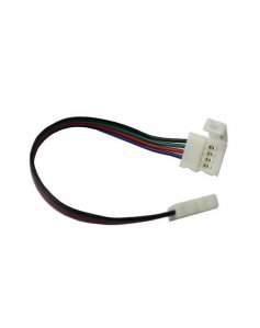 Złączki do taśm LED RGB dwustronne - złączka kątowa