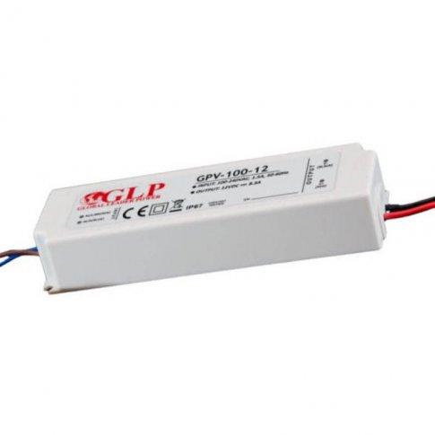 Zasilacz impulsowy IP67 100w