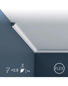 Listwa Sufitowa CX132 Flex