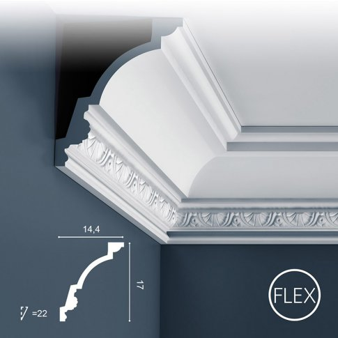 Listwa sufitowa C301 flex