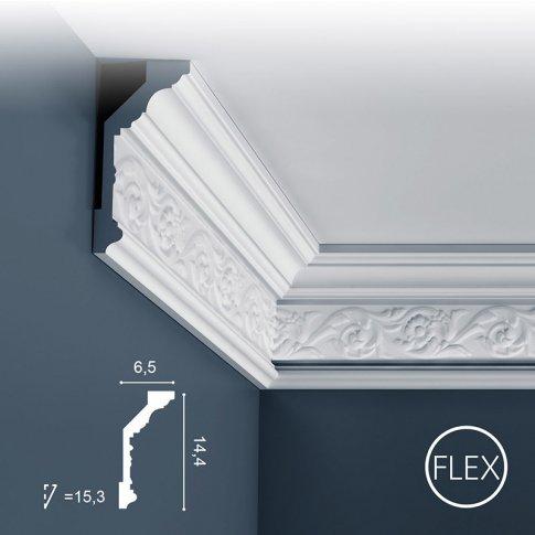 Listwa sufitowa dekoracyjna C303 Flex