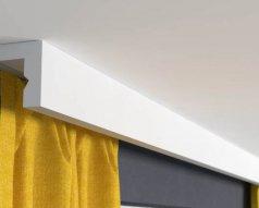 Montaż szyny sufitowej PCV i aluminiowej