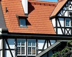 Mur pruski imitacja na elewacji